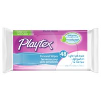 Playtex Personal Cleansing Cloths - 48ct