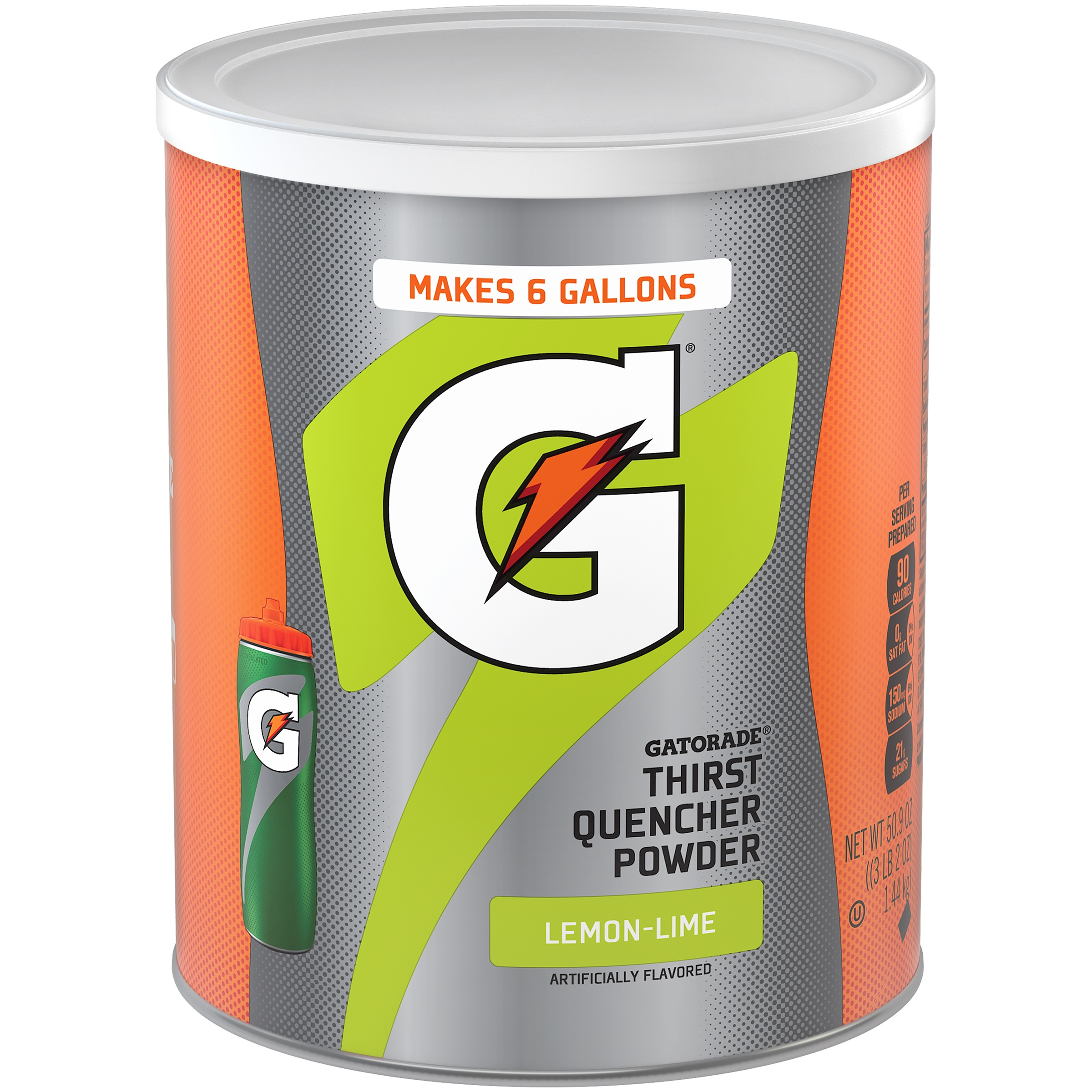 Gatorade Thirst Quencher Drink Mix, Lemon Lime, 51 Oz, 1 Count