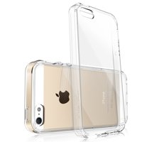 iPhone 5 Case, Ringke [FUSION] Tough PC Back TPU Bumper [Drop Protection/Shock Absorption Technology] Raised Bezels Protective Cover For Apple iPhone SE / 5S / 5