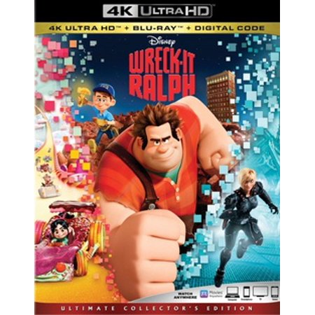Wreck It Ralph Halloween (Wreck-It-Ralph (4K Ultra HD + Blu-ray +)