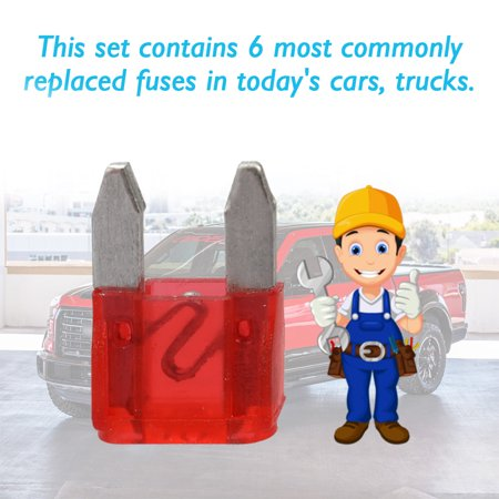 Boat Truck Car Fuse Kit Cars Plug-in Replaced Fuses Box Set Auto Accessories - image 4 of 7