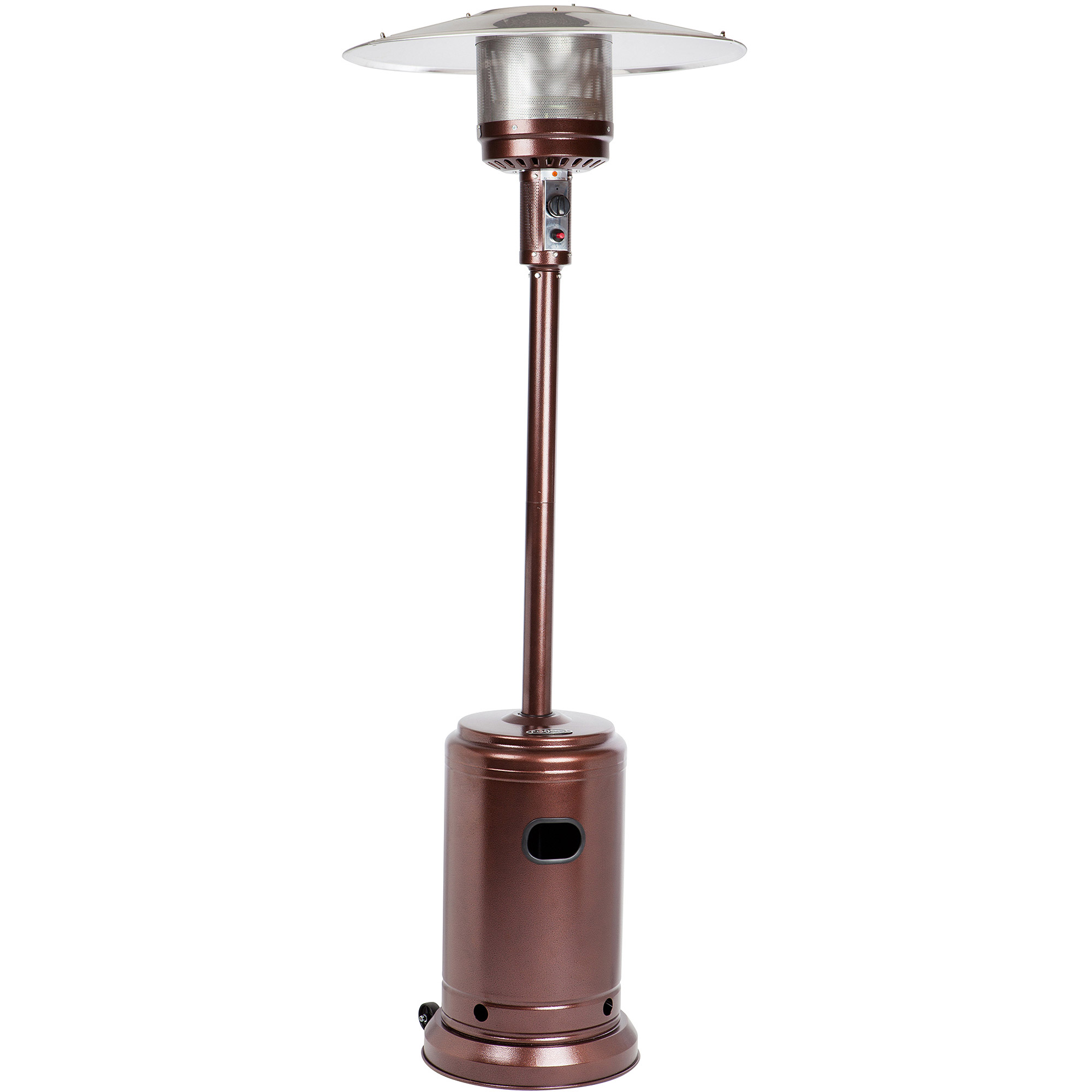 Fire Sense Hammer Tone Bronze Commercial Patio Heater Walmart Com