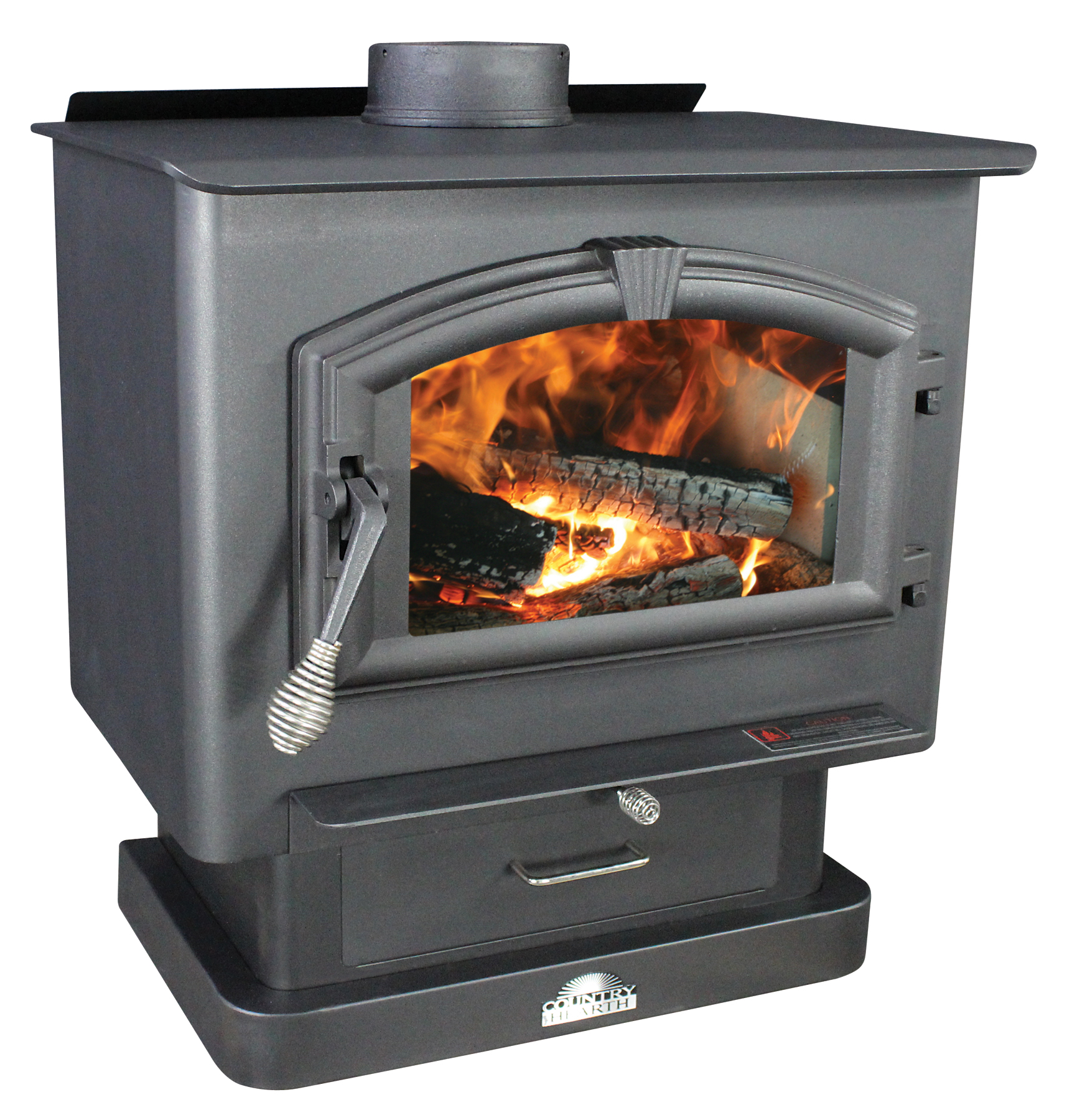 US Stove 2,000 Sq. Ft Medium EPA-Certified Wood Stove