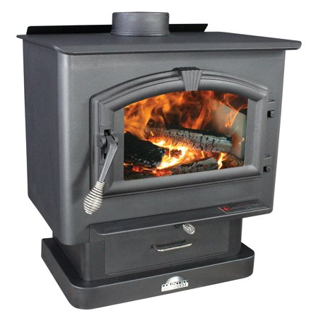 US Stove 2,000 Sq. Ft Medium EPA-Certified Wood Stove ()