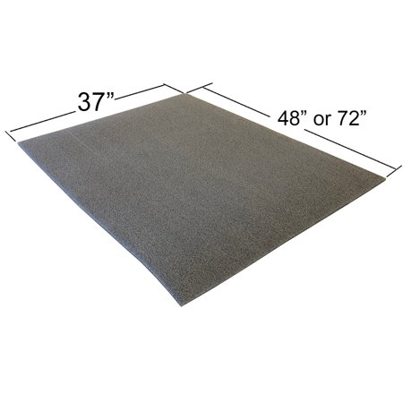 Foam Sheet Roll 1/2in. thick for DIY Projects - Durable, easy to cut. ()