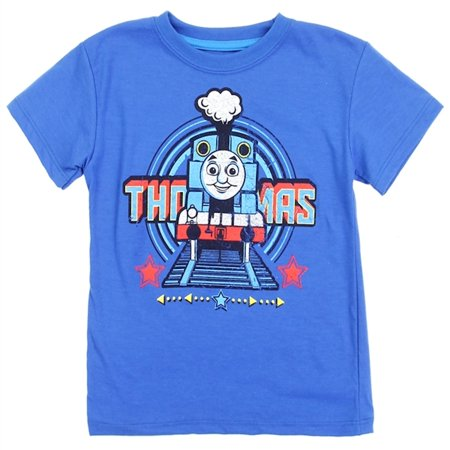 Thomas the Tank Engine Toddler Boys' Graphic Tee - Royal Blue - Sizes 2T, 3T & 4T
