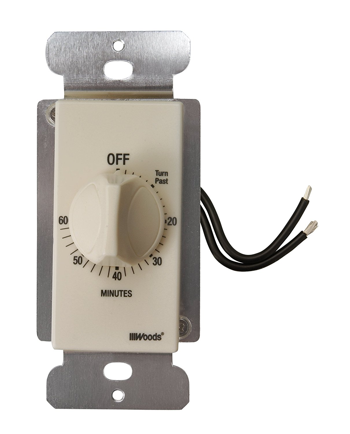 59718wd decora style 60 minute timer mechanical wall switch 59718wd decora style 60 minute timer mechanical wall switch light almond by woods ship from us walmart sciox Gallery