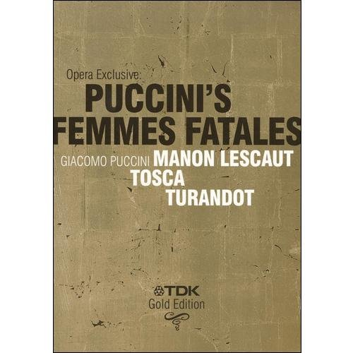 Anderson Opera Exclusive: Puccini's Femmes Fatales - Mano...