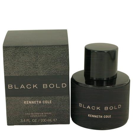 Kenneth Cole Kenneth Cole Black Bold Eau De Parfum Spray for Men 3.4 oz