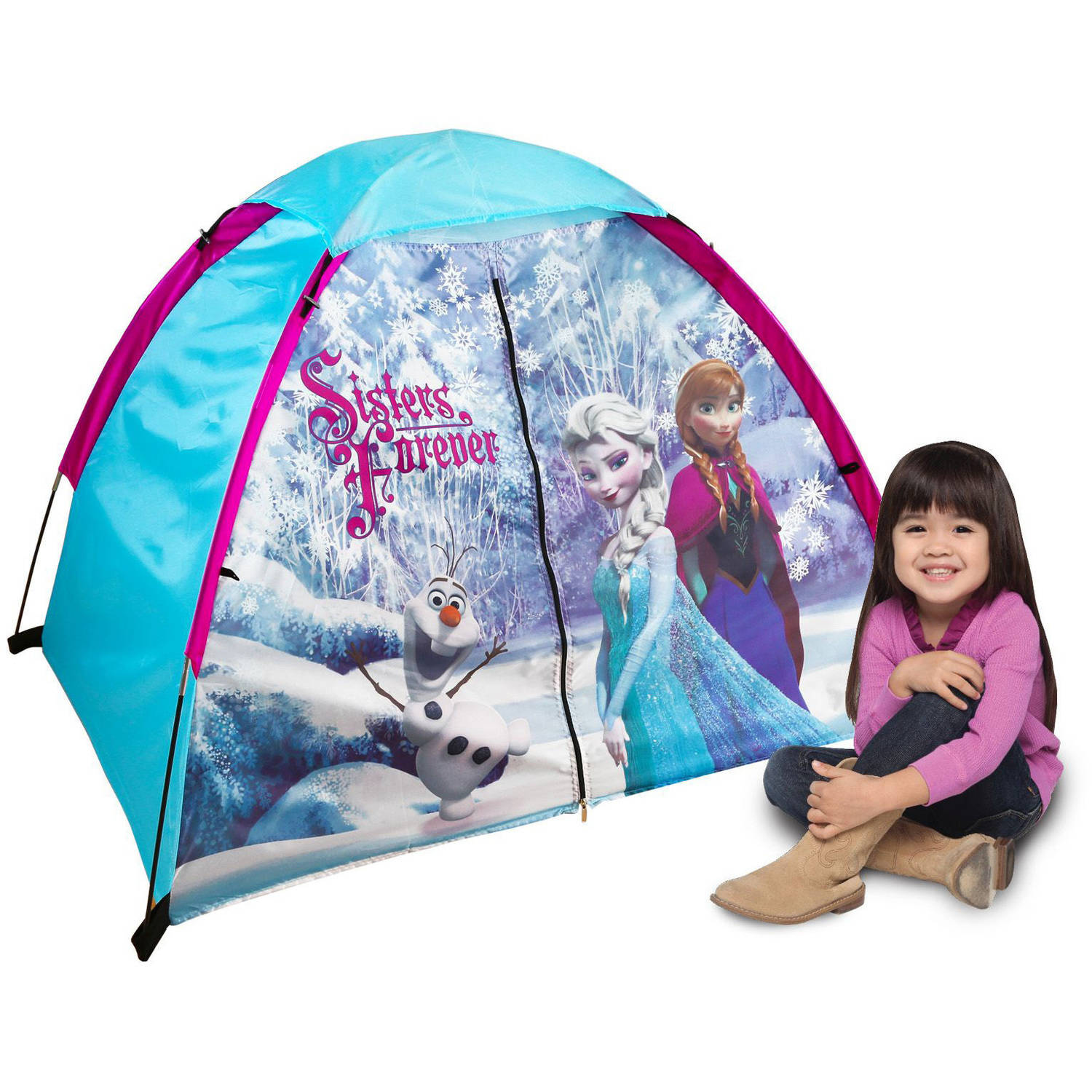 Disney Frozen 2-Pole Kids Dome Tent  sc 1 st  Walmart & Disney Frozen 2-Pole Kids Dome Tent - Walmart.com