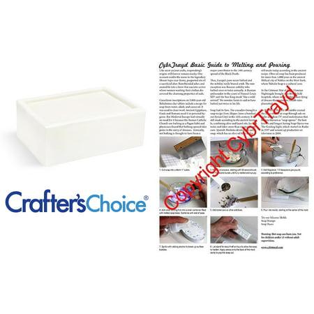 Crafters Choice 2 LB Premium Shea Butter Melt and Pour Soap (Melt And Pour Soap Recipes Shea Butter)
