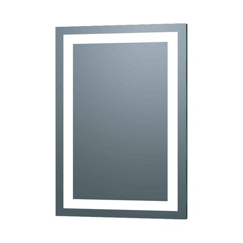Bathroom Mirror Backlit afina illume led backlit rectangular bathroom mirror - walmart