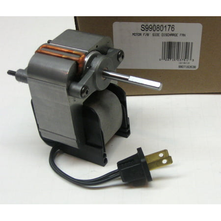 S99080176 Broan Nutone Side Discharge Fan Vent Motor 99080176 SP-61K32 (Side Motor)