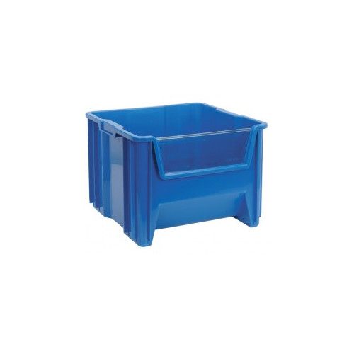 quantum storage large heavy duty giant stack bin window set of 5