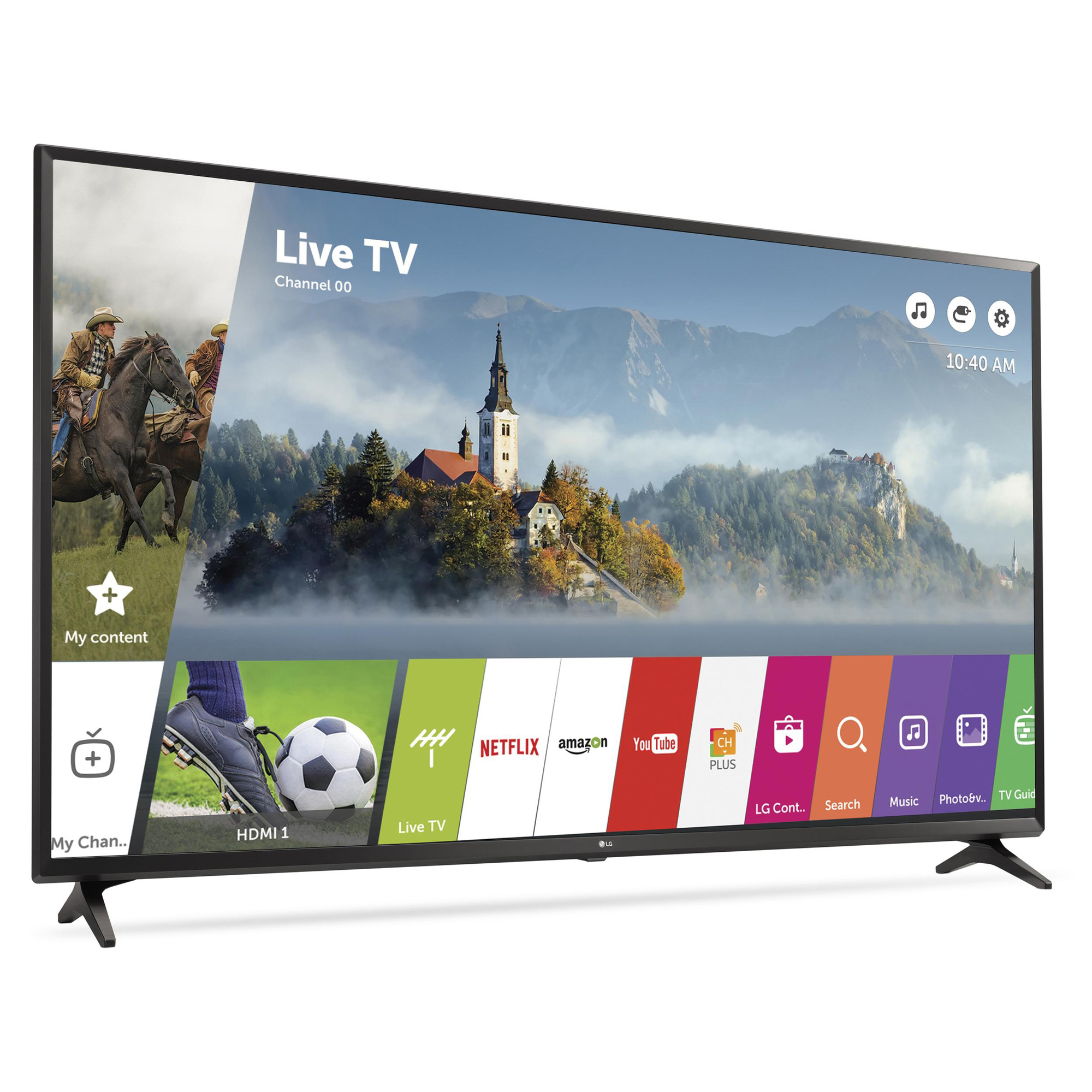 "Refurbished LG 43"" Class 4K (2160P) Smart LED TV (43UJ6300)"