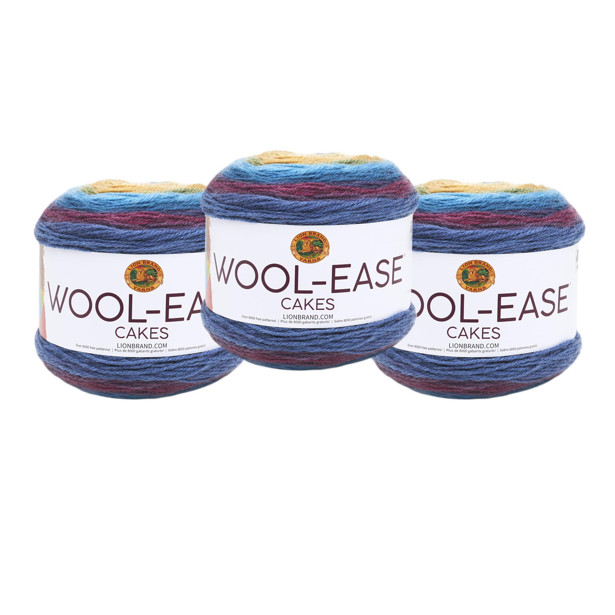 9656f6a5e7c0 Lion Brand Mandala Wool Ease Cakes Hades 3 Pack Wool Cake Yarn ...
