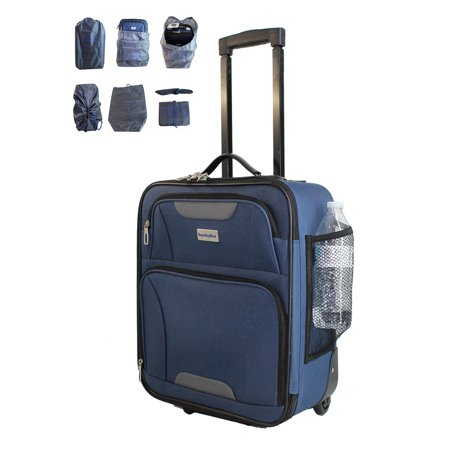 BoardingBlue 18 Luggage Personal Item Under Seat Luggage for Spirit, Frontier America