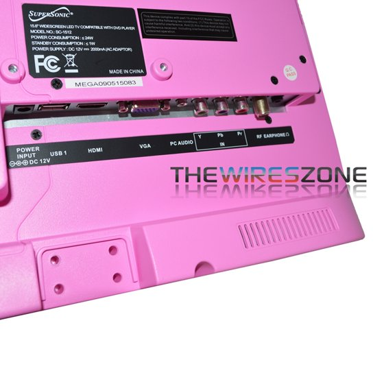 Supersonic SC-1512PK Pink 15 6