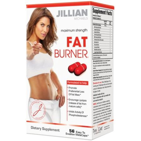 Jillian Michaels Force maximale Fat Burner 56 metacaps