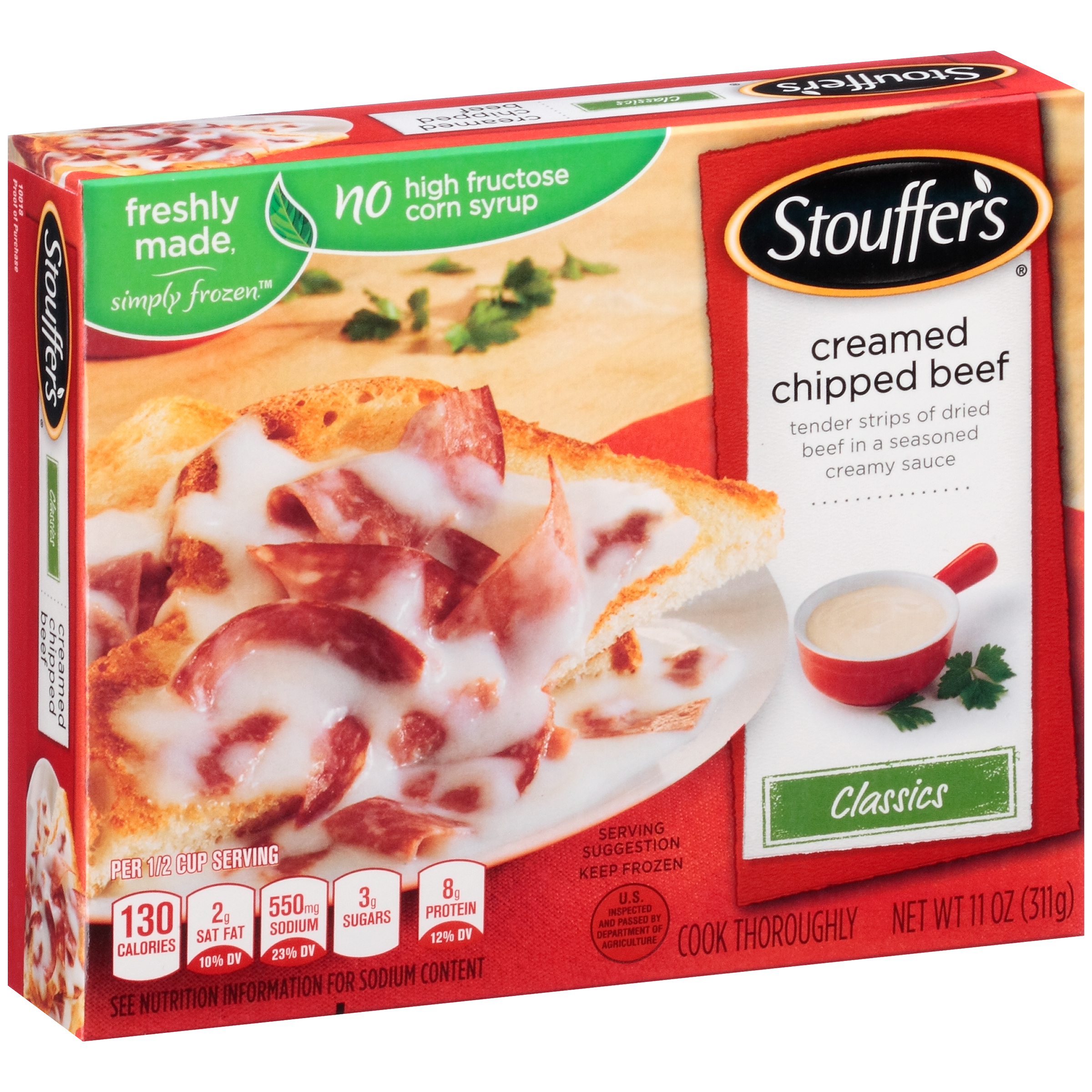 STOUFFER'S Classics Creamed Chipped Beef 11 oz. Box