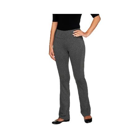 375c5c1bb3f Women with Control - Women with Control Boot Cut Active Pants with Tummy  Control (Black
