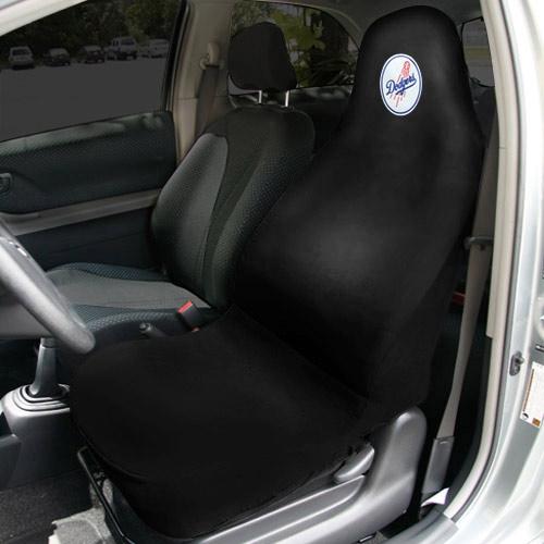 Los Angeles Dodgers Car Seat Cover - Black - No Size