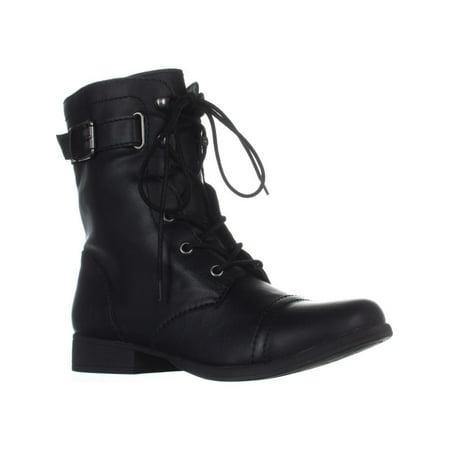 AR35 Fionn Combat Boots, Black - image 6 de 6