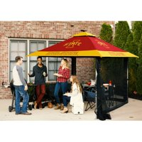Logo Brands Pagoda 10 Ft. W x 10 Ft. D Steel Pop-Up Canopy