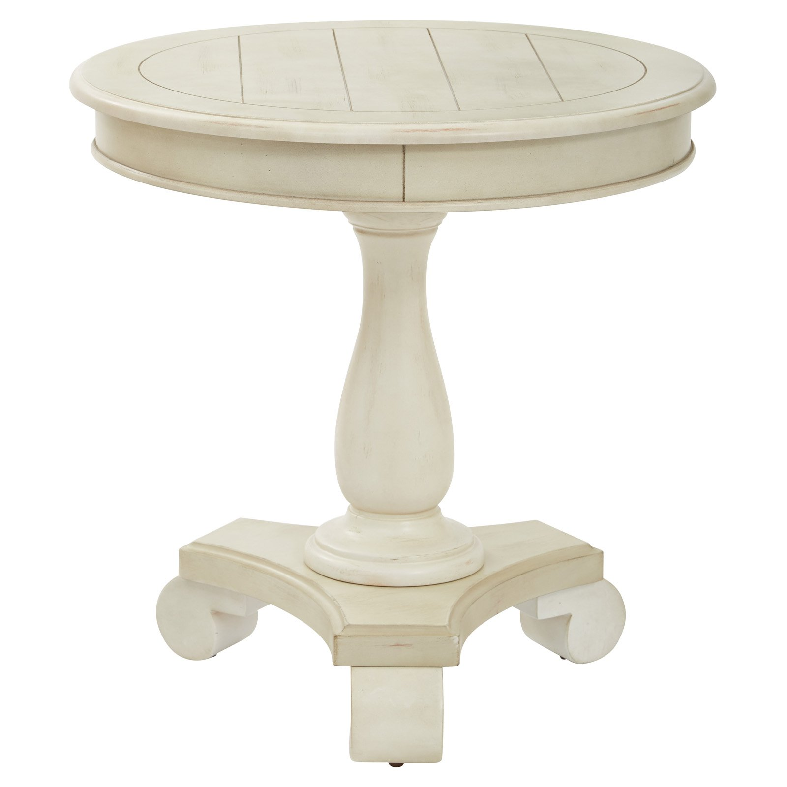 INSPIRED by Bassett Avalon Round End Table Walmart