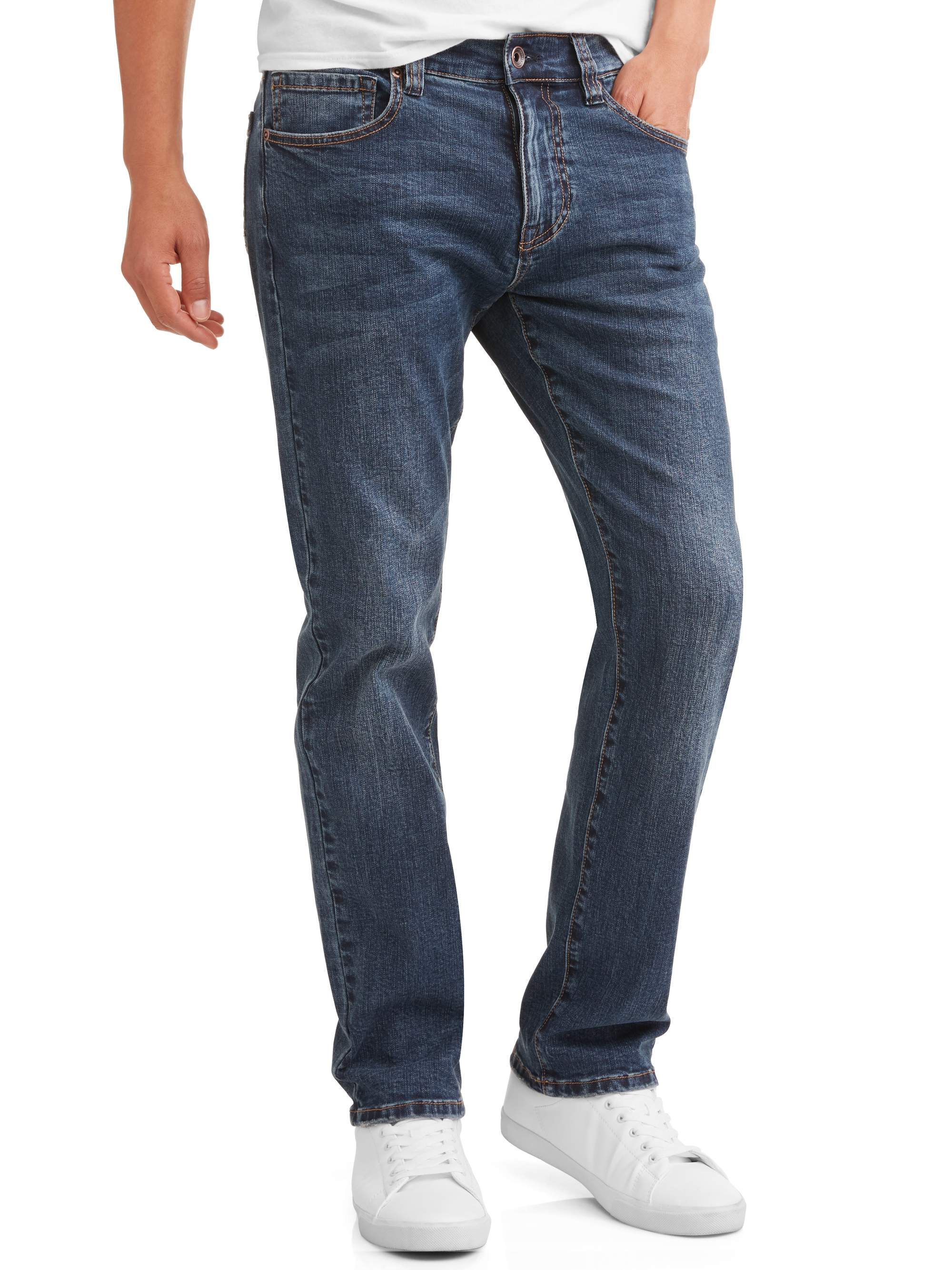 Men's Embellished Slim Straight Fit Jeans