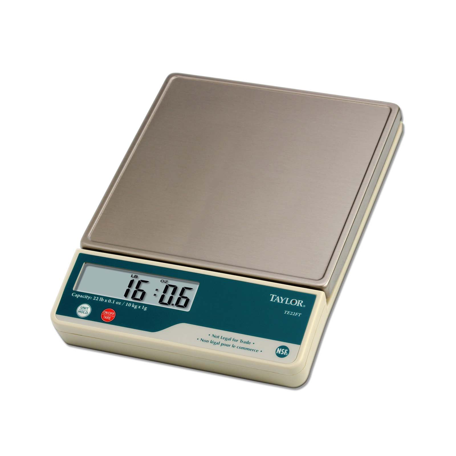 Taylor Precision TE22FT Portion Control Scale