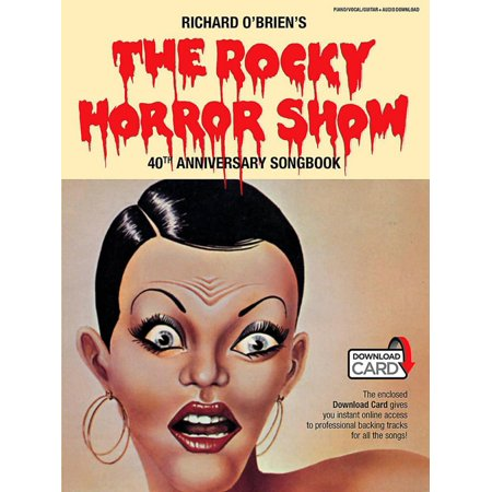 Music Sales The Rocky Horror Picture Show   40Th Anniversary Piano Vocal Selections Book Online Audio