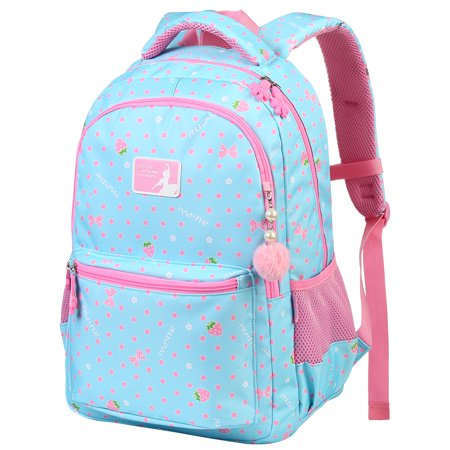 Vbiger School Backpack Adorable Student Shoulders Bag Multi-functional School  Bag Casual Outdoor Daypack for 4d5c967cc28c8