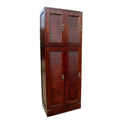 D-Art Collection Louvered Armoire by D-Art Collection