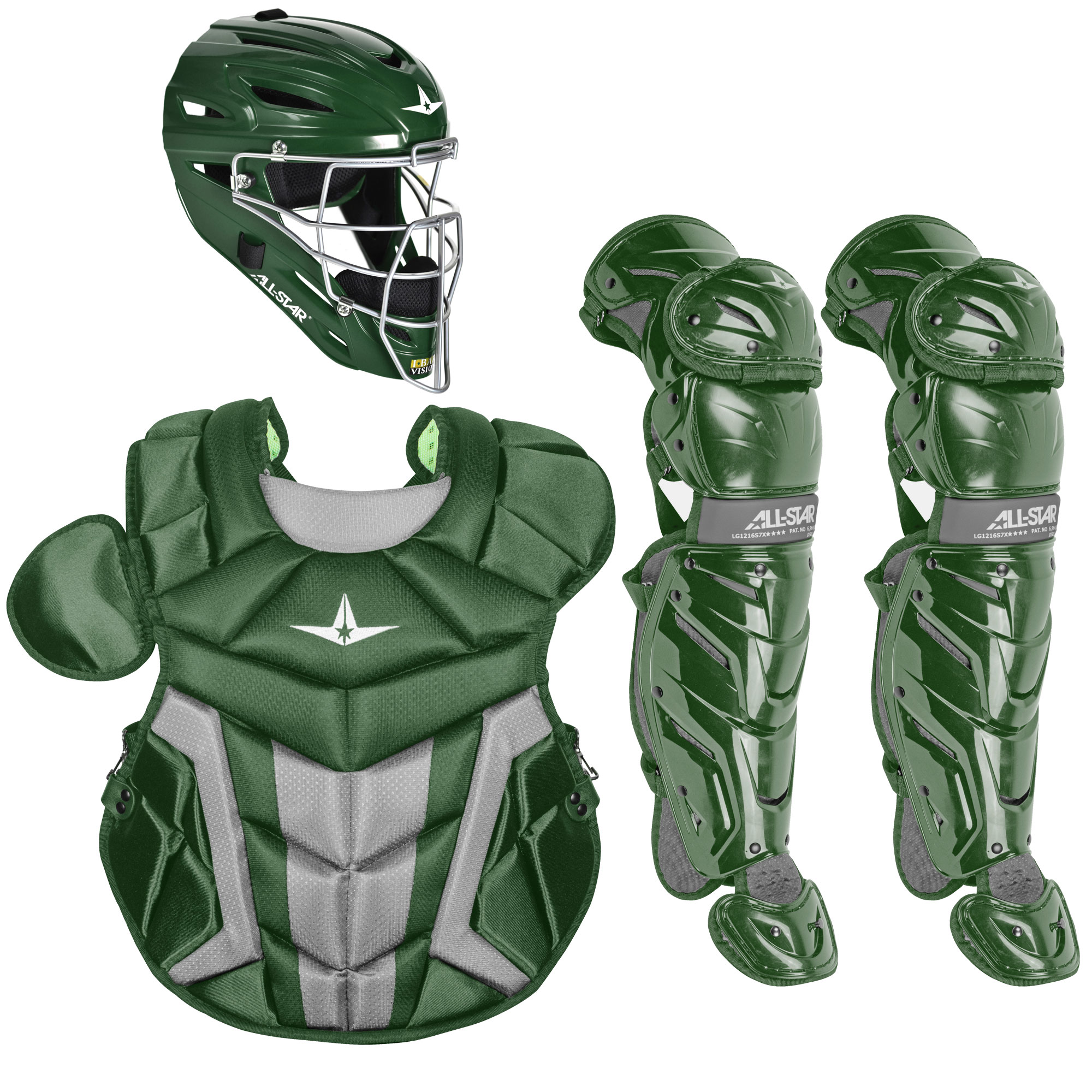 All-Star System7 Axis Pro Youth Baseball Catcher's Package
