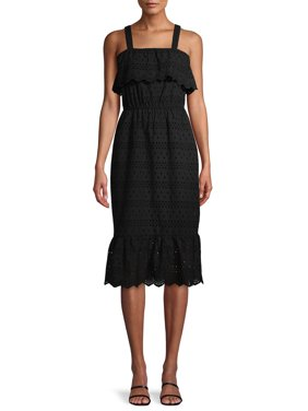 Time and Tru Women's Eyelet Dress