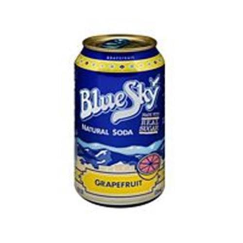 Blue Sky Grapefruit Soda 6 Pk (Pack of 4)
