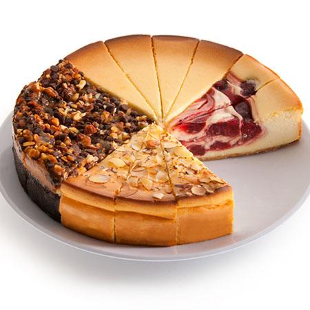 Gourmet Cheesecake Sampler 9 Inch by