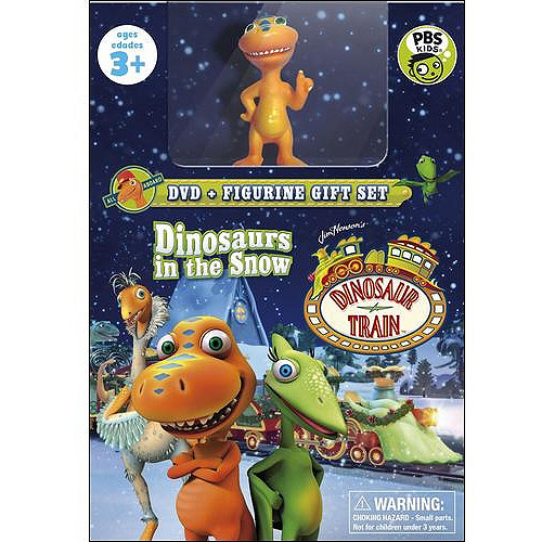 Dinosaur Train: Dinosaurs In The Snow (DVD + Toy)