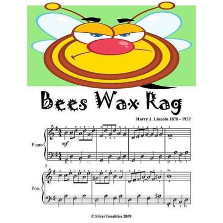 Edition Wax (Bees Wax Rag - Easy Piano Sheet Music Junior Edition - eBook )