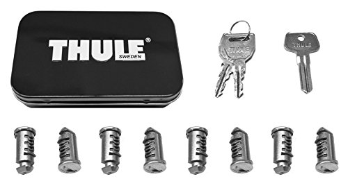 Thule 588 Lock Cylinders for Car Racks (8-Pack) by Thule