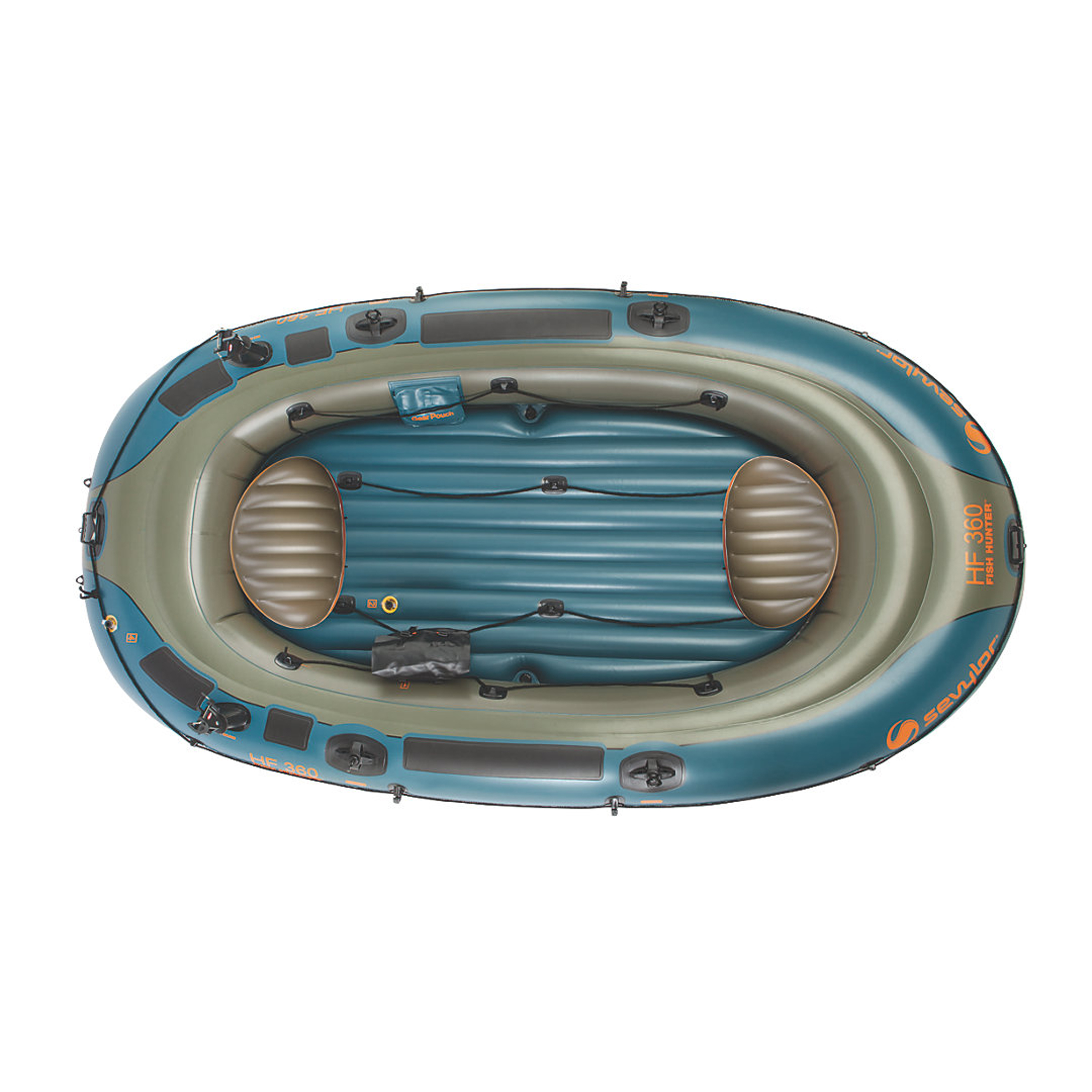 Sevylor 6-Person Fish/Hunt Inflatable Boat with Berk