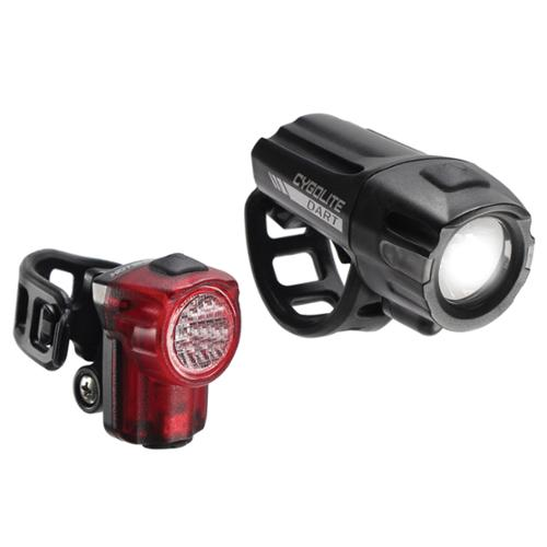Cygolite Dart 100 USB Bicycle Headlight/HS Micro 30 Taillight Combo Set - DRT-100-MC