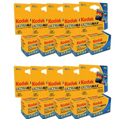 20 Rolls Kodak Ultra Max GC 400 (ISO) 135-36 Color Print 35mm Film FRESH by Kodak