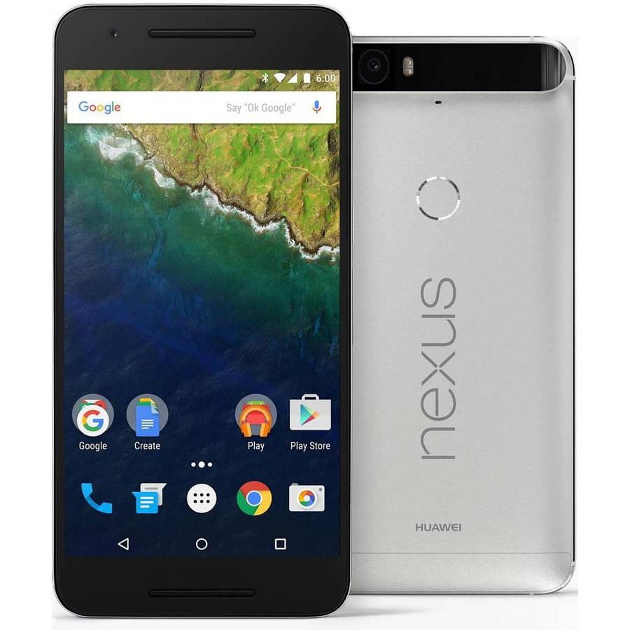 Huawei Nexus 6P 64GB GSM Smartphone (Unlocked), Aluminium