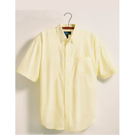 - Tri-Mountain Retro 748 Stain Resistant Oxford Shirt, 2X-Large, Butter