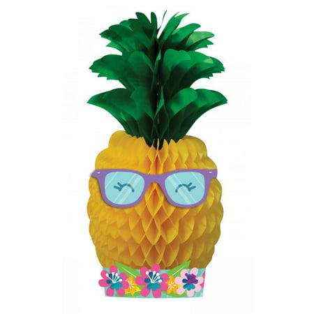 Creative Converting Pineapple Party Centerpiece](Pineapple Centerpiece Ideas)
