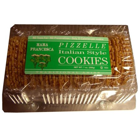 Pizzelle, Italian Style Anise Flavor Cookies, 8oz