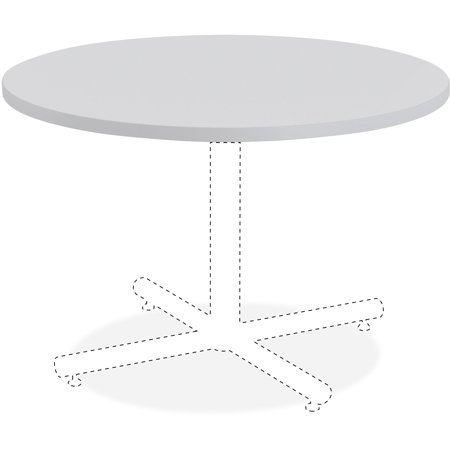 Lorell, LLR62575, Round Invent Tabletop - Light Gray, 1 (Lorell Round Tabletops)