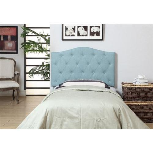 Furniture of America IDF-7989BL-HB-T Alexa Twin Headboard, Blue